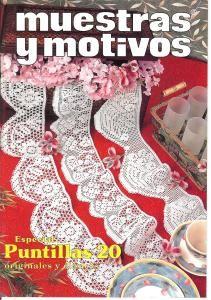 MYM punt 20Muestras y Motivos Especial Puntillas No 20  Charming trims with some…