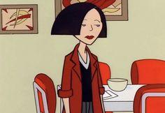 Jane Lane de Daria | 19 Personajes de dibujos animados de tu niñez que tenían un montón de estilo