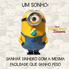 Minion sincero Humor Minion, Minions Cartoon, Minions Images, Cute Minions, My Minion, Minions Quotes, Funny Quotes, Funny Memes, Hilarious