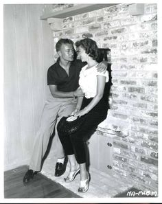 Natalie Wood & Nick Adams
