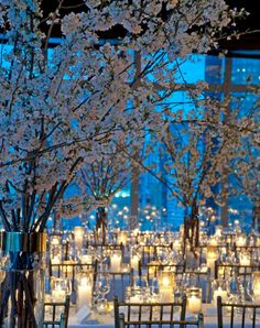 11 Winter Wonderland Wedding Ideas That Are Pure Magic  #purewow #trends #winter #wedding #planning #flowers #centerpiece #decor