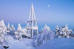 Vuokatti Scenic Viewpoint by Marko Jortikka, via 500px