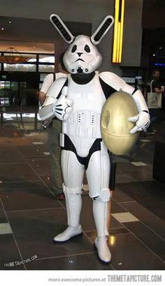Star Wars Stormtrooper Easter Bunny…