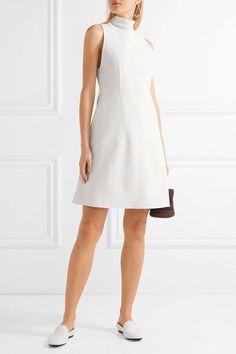 Gabriela Hearst - Sophia Stretch-wool Turtleneck Dress - Ivory - IT40