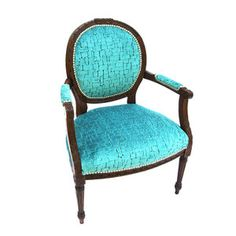Lala Antique Side Chair now featured on Fab.
