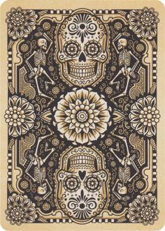 Dia de Los Muertos Playing Cards - Art of Play
