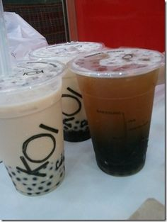 KOI cafe bubble tea  :)