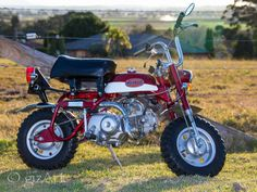 Honda  Z50A K2 U. Owner: Stu99  Bike Name: Errol  Source: MonkeyBikeOz
