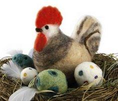 pâques laine feutrée - Recherche Google