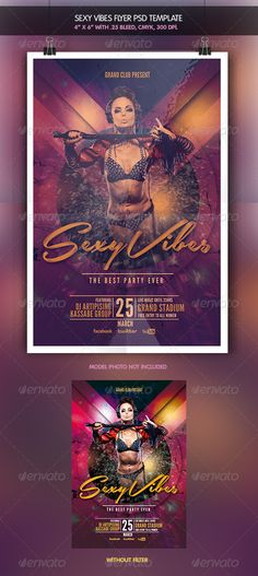 Sexy Vibes | Flyer Template