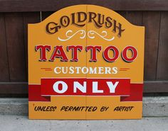 Goldrush Tattoo