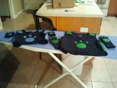 Wild Kratts costumes for my boys Halloween costumes.