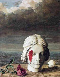 Memory, 1948, Rene Magritte    Medium: oil, canvas
