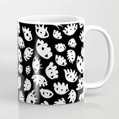 Eye Mug Black Coffee Mug Ceramic Mug Coffee Cup Printed