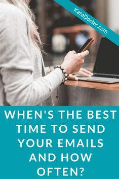 Email Newsletter Tips Every New Blog Must Know...When is the best time to email your list and how often should you email new email list subscribers.