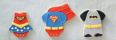 Cookie Tutorials Ideas Cupcake Superhero Cookies Forward