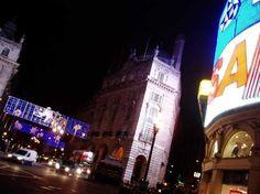 Piccadilly Circus Christmas Lights