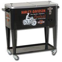 Harley-Davidson World's Coolest Rolling Cooler  http://www.retroplanet.com/PROD/34880
