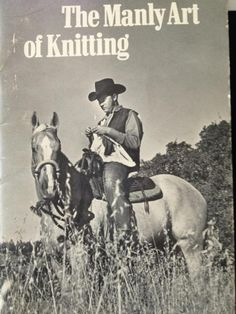 Awesome    Library recycle bin find. Copyright 1972. Patterns include a dog blanket, wall hanging to display blue ribbons, and a throw for your horse knitted with circular needles you made from that leaky hose in the backyard. -via rockstar Sville librian Cathy P.