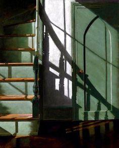 "James Neil Hollingsworth ""Madison Stairway"" c.2009   by Plum leaves"