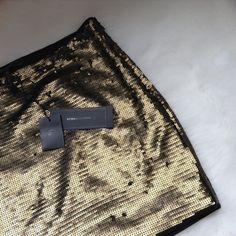 SALE! BCBGMaxAzria sequin skirt Brand new, never worn. BCBGMaxAzria Skirts