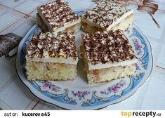 Jablkový koláč s pudinkem recept - TopRecepty.cz Apple Cake, Tiramisu, Treats, Ethnic Recipes, Sweet, Food, Hampers, Sweet Like Candy, Essen