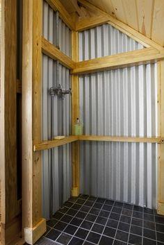 Superb Eat, Sleep, Live   Contemporary Corrugated Metal Shower   Bathroom   Other  Metro   Thomas Lawton Architect