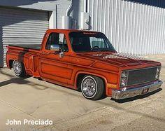 C10 Chevy Truck, C10 Trucks, Chevy Pickups, Lowrider Trucks, Lowrider Bike, Fast Times, Square Body, Custom Paint, Motors