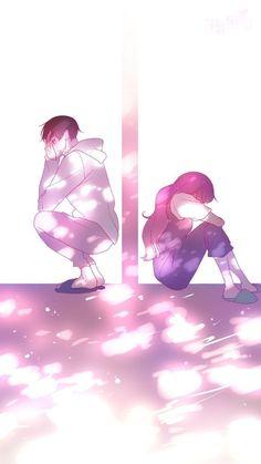 Anime Couple Love, Anime Love Story, Cute Couple Art, Anime Couples Drawings, Anime Couples Manga, Cute Anime Couples, Sad Anime, Kawaii Anime, Animes Wallpapers