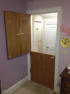 Anyone Ever Take A Regular Door And Convert It To A Dutch Door?