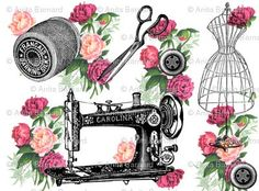 roses sewing