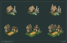 Buildings for game Part 4 by Jonik9i.deviantart.com on @DeviantArt