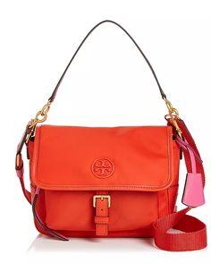 Tory Burch Perry Colorblock Nylon Crossbody Bag In Bright Samba Nylon Bag, Samba, Cross Body Handbags, Color Blocking, Tory Burch, Crossbody Bag, Hand Bags, Shopping, Shoulder Bags