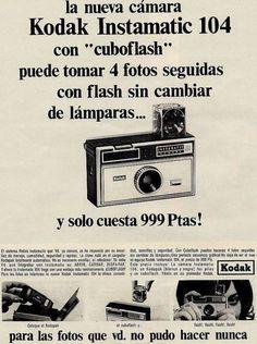 Kodak Instamatic 104. Año 1966