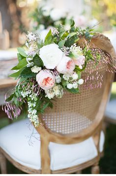 Romantic and glittering garden wedding inspiration by wedding designer Carly Rae, photo: Diana McGregor Photography