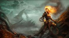 Magic The Gathering Chandra