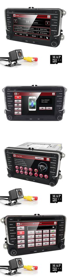 Video In-Dash Units w GPS: 7 2Din In Dash Car Stereo Dvd Player Gps Navigation Bluetooth Radio+Cam For Vw -> BUY IT NOW ONLY: $149 on eBay!