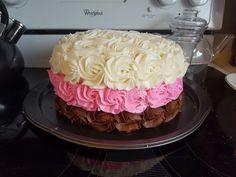 Neopolitan Cake - MIL's birthday cake