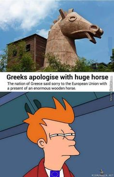 Greece says sorry