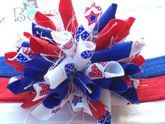 fourth of july jojo bow