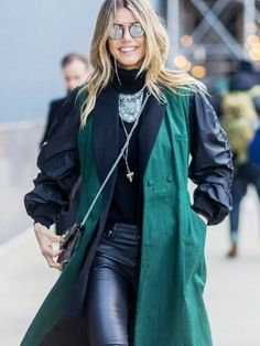 The Latest Street Style Photos From New York Fashion Week via @WhoWhatWearAU