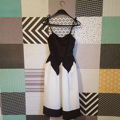 Vintage Niki Party Dress Size 7-8 New with tags Union Made vintage Niki dress, black and white, size 7-8. Niki Dresses