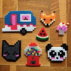 Hama bead crafts by mylolohandmade