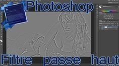 Aujourd'hui on étudie l'effet permis par le filtre passe haut de photoshop, afin d'obtenir l'effet gravure métallique déjà étudié via Lightroom.