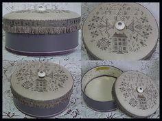 MagicXstitch: Beautiful Victorian Box