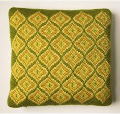 Bargello needlepoint pillow.