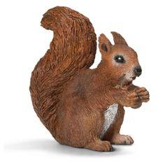 Фигурка SCHLEICH Белка, грызущая орех - купить, фигурка schleich белка, грызущая орех цена в интернет магазине детских товаров и игрушек «Детский Мир»
