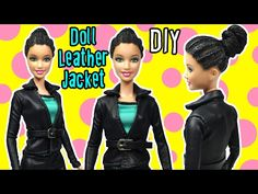 DIY Barbie Doll Leather Boots Tutorial - How to Make Easy Doll Shoes - Making Kids Toys - YouTube