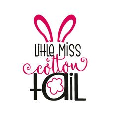 easter iron on decal little miss cotton tail mister cotton tail shirt design