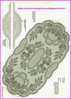 Crochet Crown of Hearts Doily Free Pattern - Crochet Doily Free Patterns Crochet Table Runner Pattern, Crochet Doily Diagram, Filet Crochet Charts, Crochet Flower Tutorial, Crochet Doily Patterns, Crochet Tablecloth, Crochet Designs, Crochet Cord, Thread Crochet